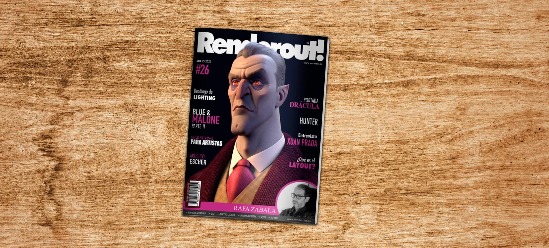 Publicación para la revista Renderout